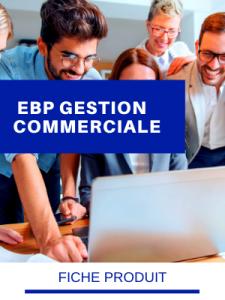 FICHE PRODUIT EBP GESTION COMMERCIALE