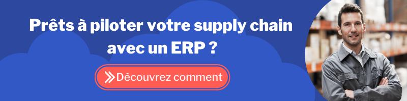Piloter sa supply chain avec un ERP