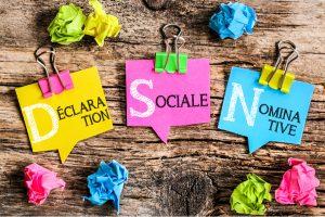 declaration nominative sociale