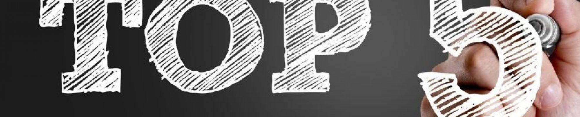 Top cinq des outils BI